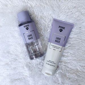 PINK Love Haze Lotion & Body Spray